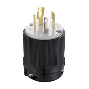 Gas Gasoline L14-20P 4 Prong Generator Locking Plug 125//250V UL Approval 20A