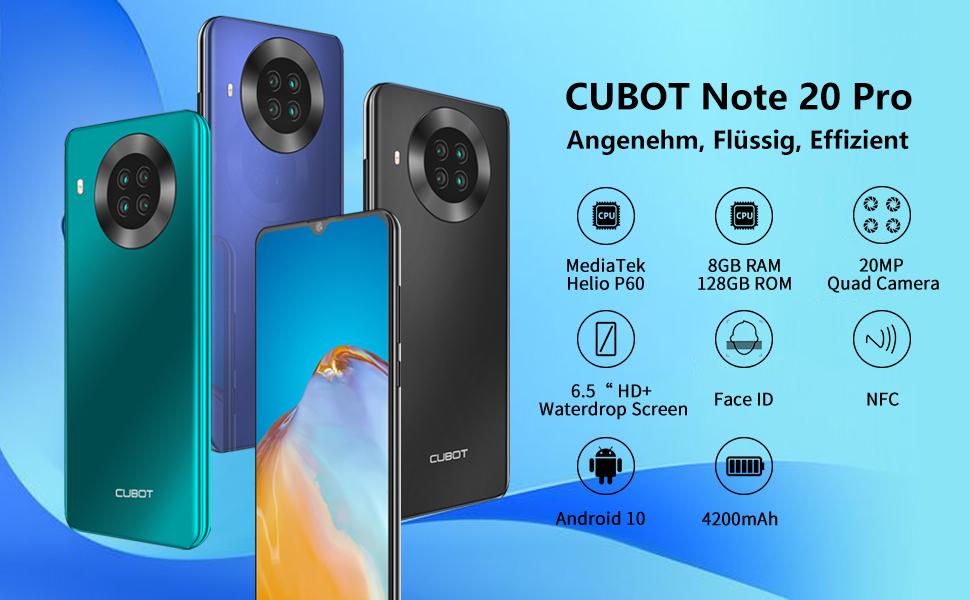 CUBOT smartphone 8gb ram