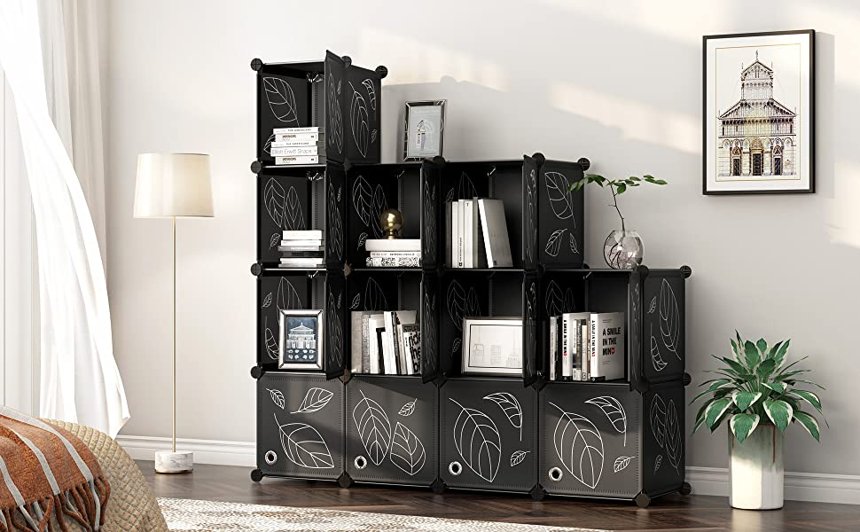 Cubes Storage Organizer with Doors