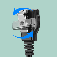 Walkie Talkies Earpiece with 360-degree rotatable clip