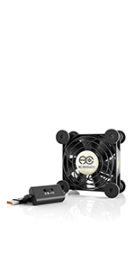 AC Infinity MULTIFAN S1 Quiet 120mm AC-Powered Fan Receiver DVR Playstation Xbox Component Cooling