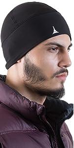 helmet liner skull cap beanie for running workout motorcycle under helmet cooling beanie
