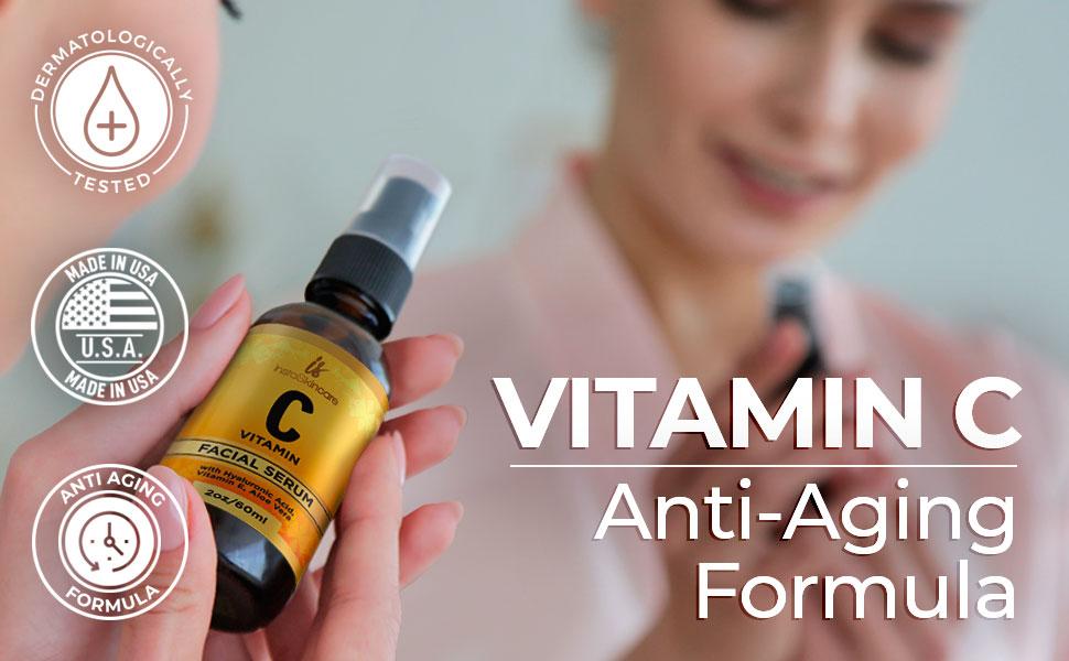 vitamin c antiaging formula