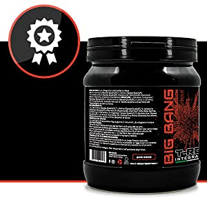 BIG BANG Pre workout 250gr Kyowa Quality® Con BCAA, Beta Alanina