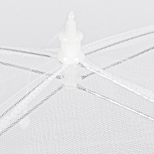 sturdy rod and clip pop up food net