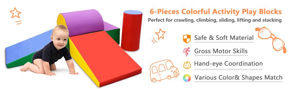 Climb and Crawl Foam Set