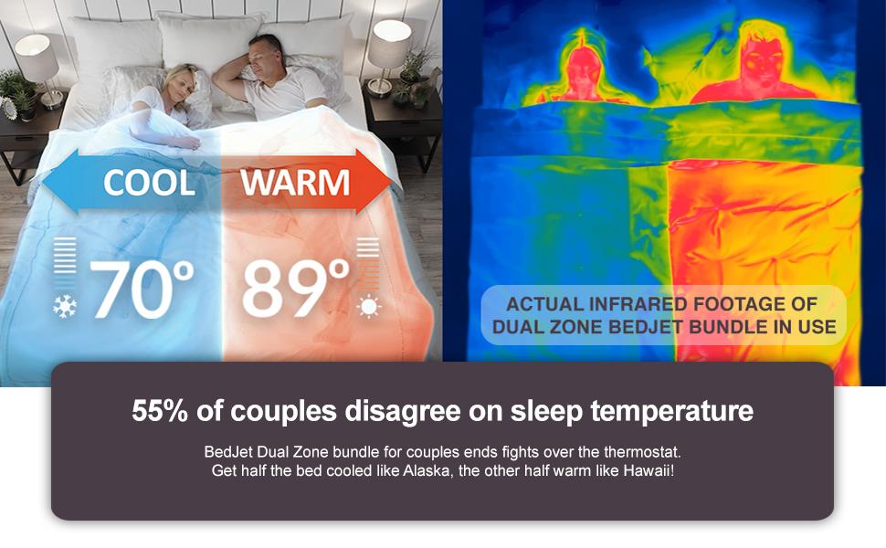 bedjet chilipad bedfan bfan smartduvet dualtemp bed cooling warming system v1 v2 3 mattress topper