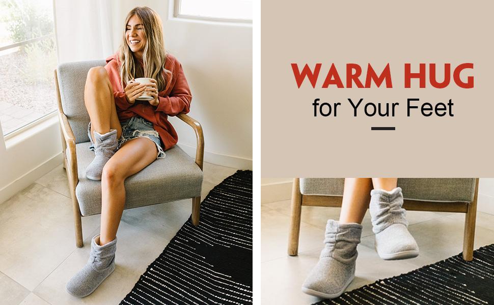 women slipper boots