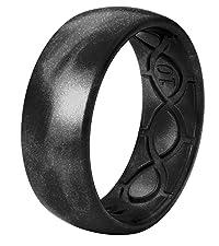 Groove Life Wedding Rings Metallic Black Pearl
