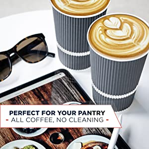 pantry office supplies 16oz 16 oz coffee cups