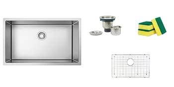 32'' kitchen sink