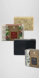 Café carbón activado jabones artesanales aceites esenciales beleza cuidado personal