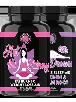 hot and skinny dreams fat burner weight loss sleep aid