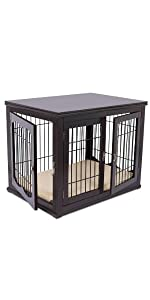 wood dog crate, dog kennel, pet cage, kennel, dog crate