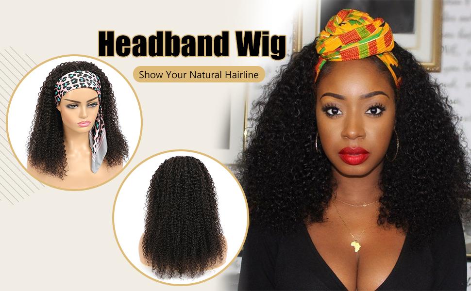 half wigs for black women