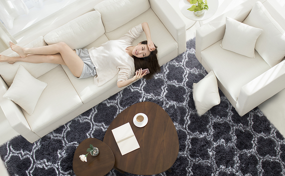 soft area rug
