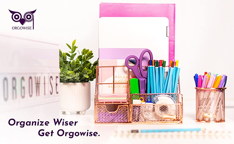 Organize Wiser Get Orgowise - Rose Gold