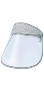 transparent face shield