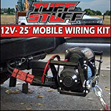 overland  foot portable mobile winch wiring kit w/quick disconnect plug 2 gauge