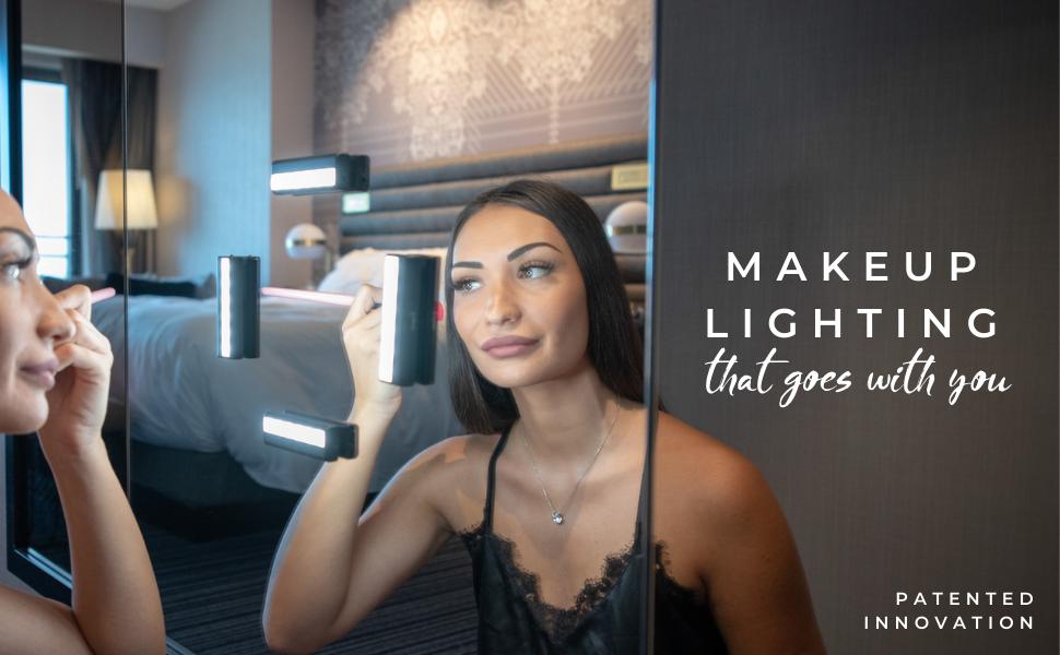 Leopara makeup lighting hollywood vanity mirror led strip lights ring light portable professional