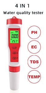 ph water tester digital