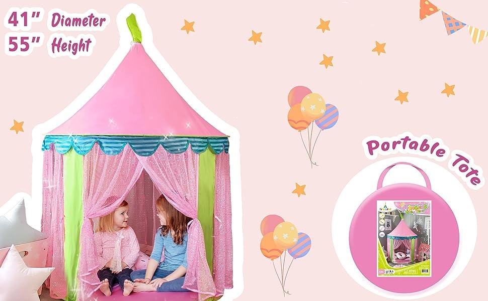 pink unicorn playtent