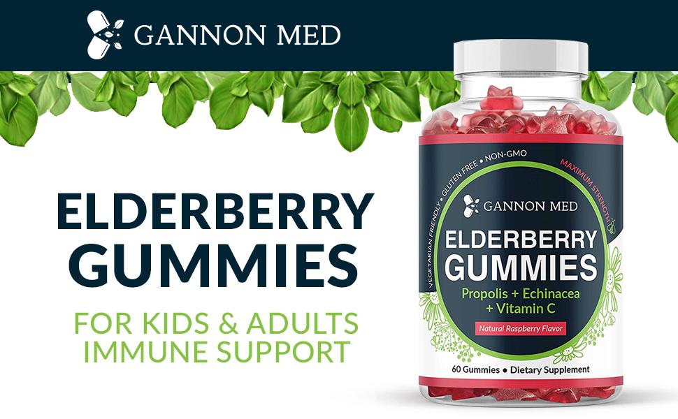 organic elderberry gummies gummy childrens vitamins for kids vitamin c elderberries adult sambucus