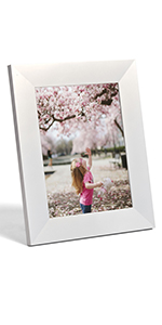 snap and share digital image frame unlimited sharing clear display auto dimming hassle free
