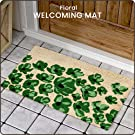 Floral  Welcoming Mat