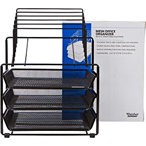 steel mesh letter trays