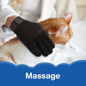 cat brush dog pet grooming gloves hair remover shedding kit massage for rabbit horse