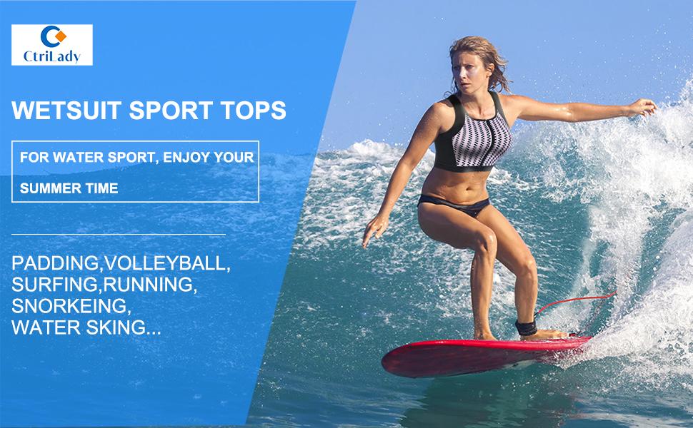 wetsuit sport tops