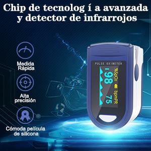 Chip de tecnología avanzada y detector de infrarrojos