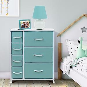 pastel dresser