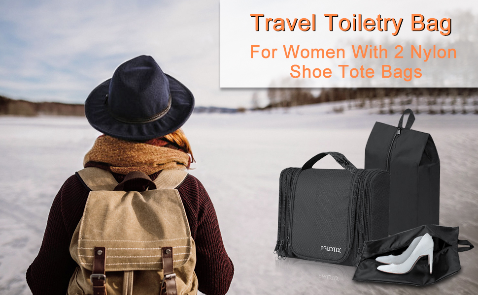 travel toiletry bag for women