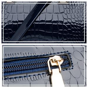 Zipper handbags