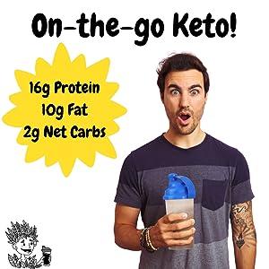 keto shake protein