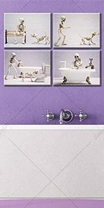 Bathroom wall decoration/toilet wall decoration