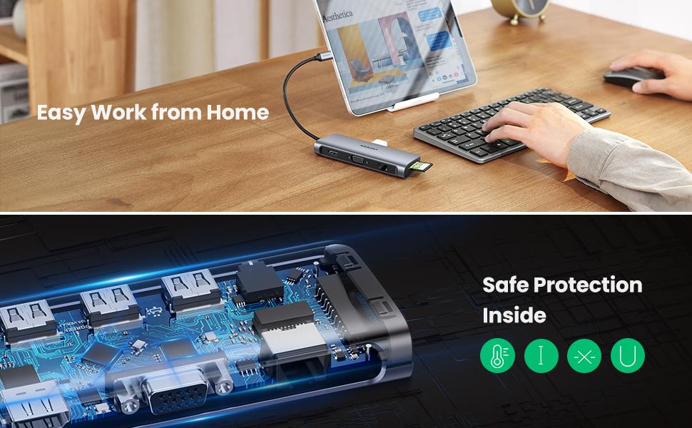 UGREEN USB C Hub 10 in 1 Pakistan BrandTech.pk