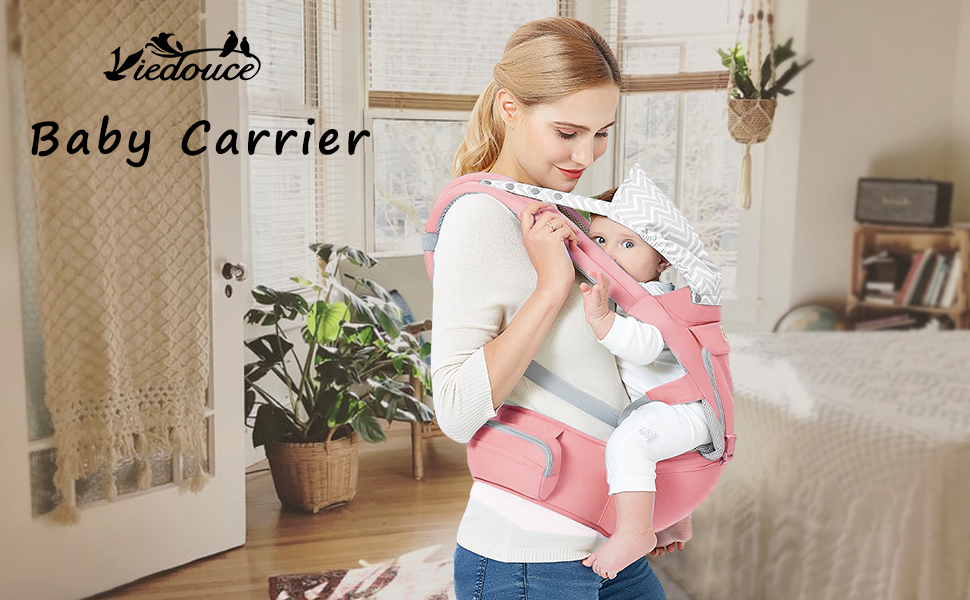 Baby Carrier Ergonomic with Hip Seat