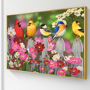 Birds diamond painting