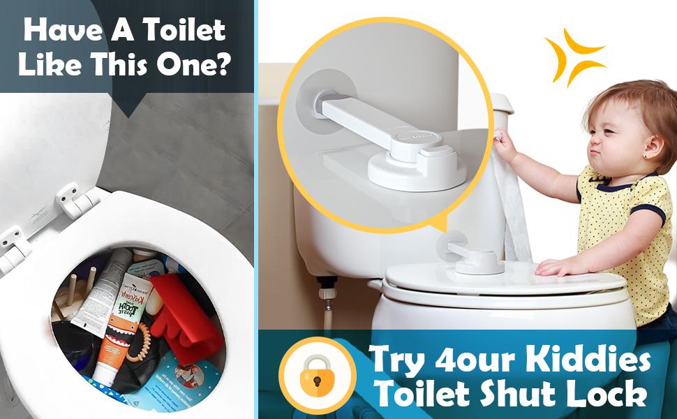 baby proofing toilet lock