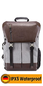 waterproof camera backpack for women