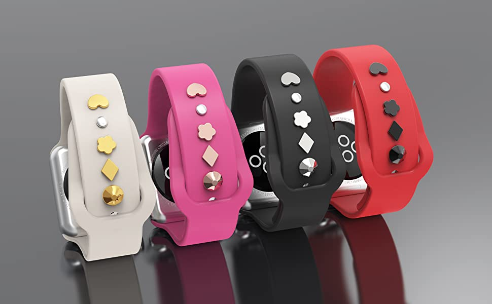 sport watch band charms