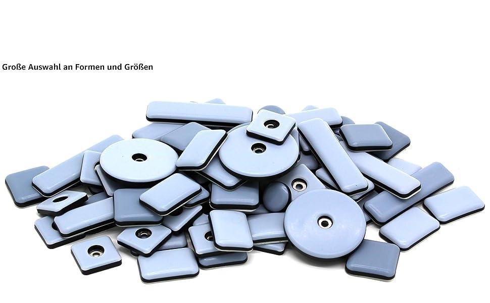 teflongladder meubelglijders meubels zelfklevende schroeven rond mm 25 19 38 50 40 mm 16 30 mm vierkant