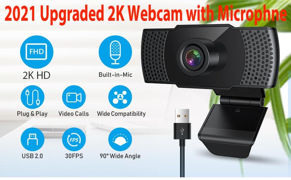 webcam 1080p 2k