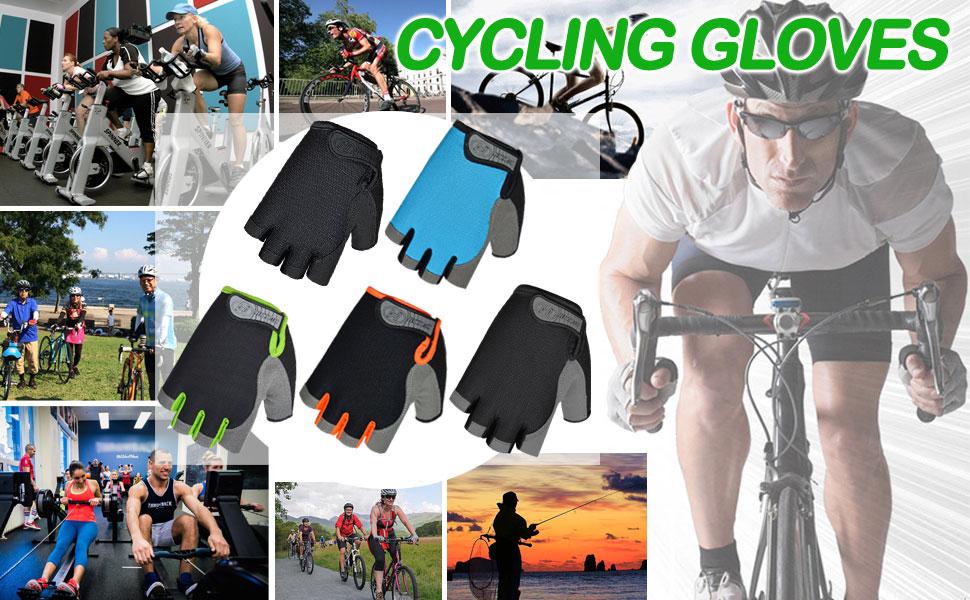 HuwaiH Bike Gloves 5 Colors