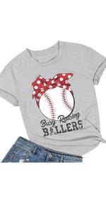 Busy Raising Ballers Shirt Funny Baseball Mom Shirt