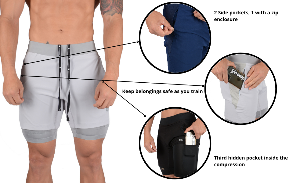 mens bodybuilding shorts