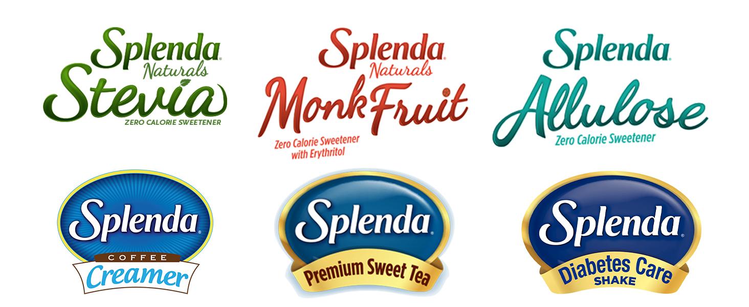 Splenda zero calorie sweetener options portfolio products